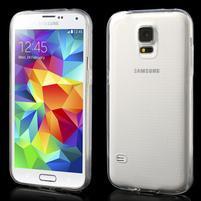 Gélové ultraslim puzdro pre Samsung Galaxy S5- transparentné