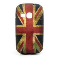 Gélové puzdro na Samsung Galaxy Young S6310- UK vlajka