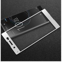 GT fixační celoplošné tvrdené sklo pre Sony Xperia XA1 Ultra - biely lem