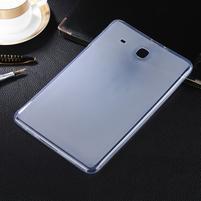 Matný gelový obal na tablet Samsung Galaxy Tab E 9.6 - transparentní