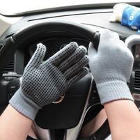 GX protišmykové rukavice - šedé