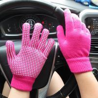GX protišmykové rukavice - rose