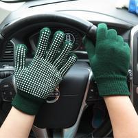 GX protišmykové rukavice - zelené