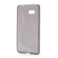 Gélové S-line puzdro pre HTC Desire 600- šedé