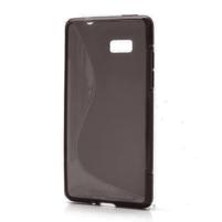 Gélové S-line puzdro pre HTC Desire 600- čierné