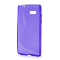 Gélové S-line puzdro pre HTC Desire 600- fialové