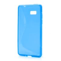 Gélové S-line puzdro pre HTC Desire 600- modré