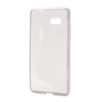Gélové S-line puzdro pre HTC Desire 600- transparentný