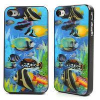 3D puzdro pre iPhone 4 4S - morský svet