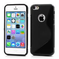 Gélové S-line puzdro pre iPhone 5C- čierné