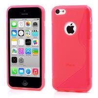 Gélové S-line puzdro pre iPhone 5C- růžové