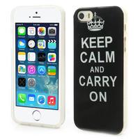 Gélové puzdro na iPhone 5, 5s- zachovat klid