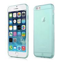 Ultra slim 0.7 mm gélové puzdro na iPhone 6, 4.7  - modré