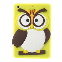 Silikonové puzdro na iPad mini 2 - žltá sova