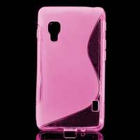 Gélové S-line  puzdro pre LG Optimus L5 II E460- růžové