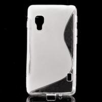 Gélové S-line  puzdro pre LG Optimus L5 II E460- transparentný