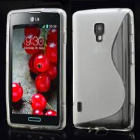 Gélové S-line puzdro pre LG Optimus L7 II P710- sivé