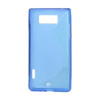 Gélové S-line puzdro pre LG Optimus L7 P700- modré