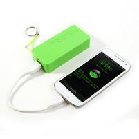 4000mAh externí baterie Power Bank - zelená