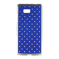 Drahokamové puzdro pre HTC Desire 600- modré