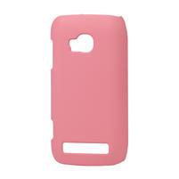 Pogumované puzdro pre Nokia Lumia 710- světlerůžové