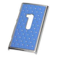 Drahokamové puzdro na Nokia Lumia 920- svetlo modré