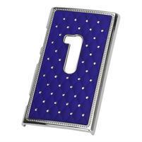 Drahokamové puzdro na Nokia Lumia 920- modré