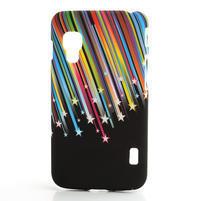 Plastové puzdro pre LG Optimus L5 Dual E455- meteor farebný