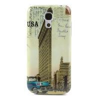 Plastové puzdro pre Samsung Galaxy S4 mini i9190- USA budova