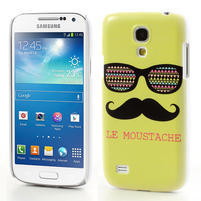 Plastové puzdro pre Samsung Galaxy S4 mini i9190- Le moustache