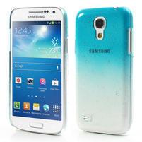 Plastové minerálné puzdro pre Samsung Galaxy S4 mini i9190- svetlomodré