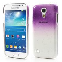 Plastové minerálné puzdro pre Samsung Galaxy S4 mini i9190- fialové