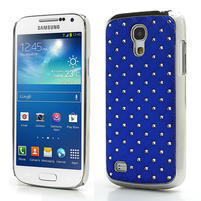 Drahokamové puzdro pro Samsung Galaxy S4 mini i9190- modré