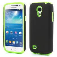 Hybridní puzdro na Samsung Galaxy S4 mini i9190- zelené