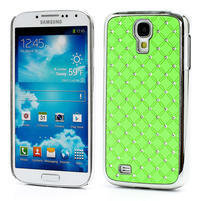 Drahokamové pouzdro pro Samsung Galaxy S4 i9500-zelené