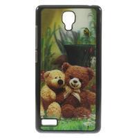 Hard Case 3D puzdro na Xiaomi Mi3- medvídek