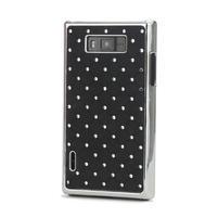 Drahokamové puzdro pre LG Optimus L7 P700- čierné