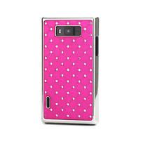 Drahokamové puzdro pre LG Optimus L7 P700- ružové