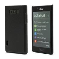 Texturované puzdro pre LG Optimus L7 P700- čierné