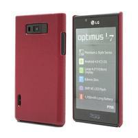 Texturované puzdro pre LG Optimus L7 P700- červené