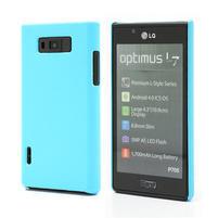 Texturované puzdro pre LG Optimus L7 P700- modré