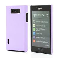 Texturované puzdro pre LG Optimus L7 P700- fialové
