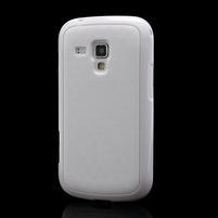 Plastogélové puzdro na Samsung Galaxy Trend, Duos- biele