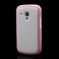 Plastogélové puzdro pre Samsung Galaxy Trend, Duos- ružové