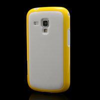 Plastogélové puzdro pre Samsung Galaxy Trend, Duos- žlté