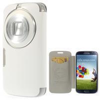 Flipové puzdro pre Samsung Galaxy K zoom C115 - biele