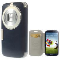 Flipové puzdro na Samsung Galaxy K zoom C115 - modré