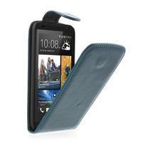 Flipové puzdro pre HTC Desire 601- modré