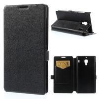Peňaženkové  puzdro na Xiaomi Hongmi Red Rice- čierné