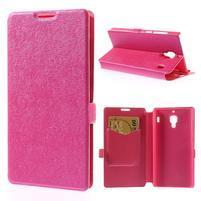 Peňaženkové puzdro na Xiaomi Hongmi Red Rice- růžové
